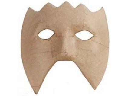 KREUL Papírová maska k dotvoření - varianta B