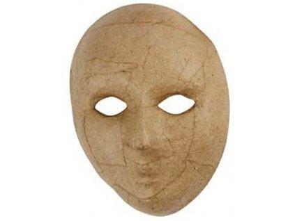 KREUL Papírová maska k dotvoření - varianta D
