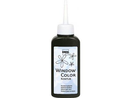 C.KREUL Barva na sklo Window Color 80 ml černý obrys neprůhledná