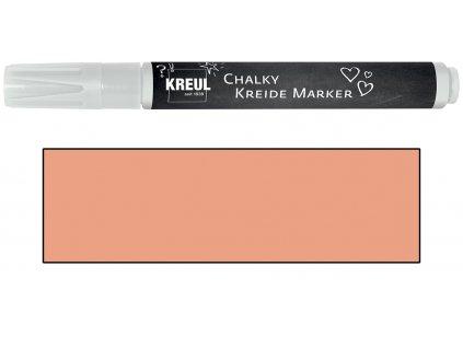 KREUL Křídový marker KREUL Medium mrazivá meruňková
