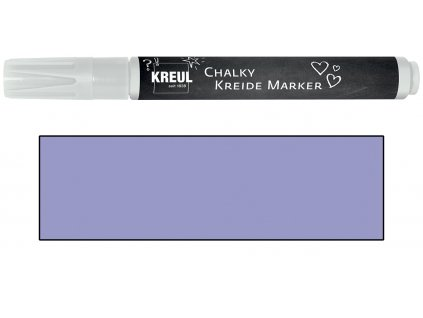 KREUL Křídový marker KREUL Medium tmavě levandulová