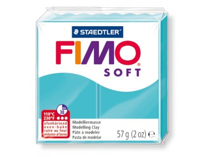STAEDTLER FIMO soft tyrkysová 57g
