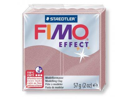 STAEDTLER FIMO efekt růžovozlatá perleťová 57g
