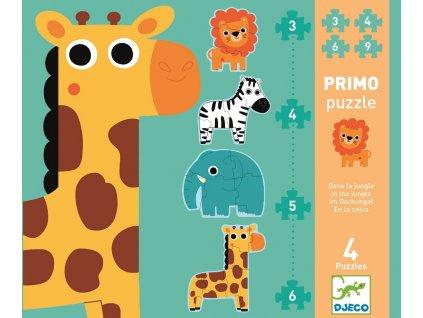 DJECO První puzzle - Džungle
