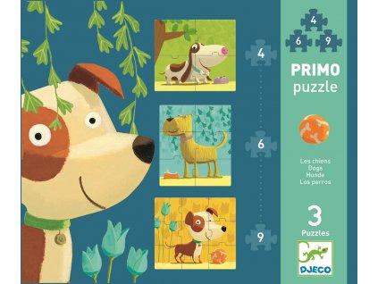 DJECO První puzzle - Pejsci