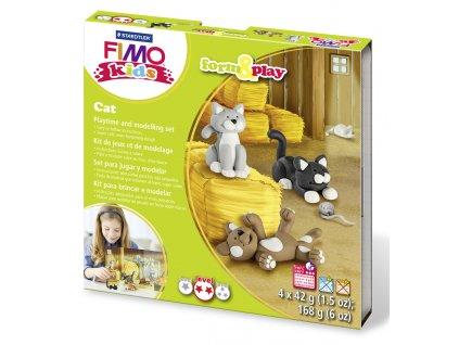 STAEDTLER STAEDTLER Sada Fimo kids Form and Play Kočky