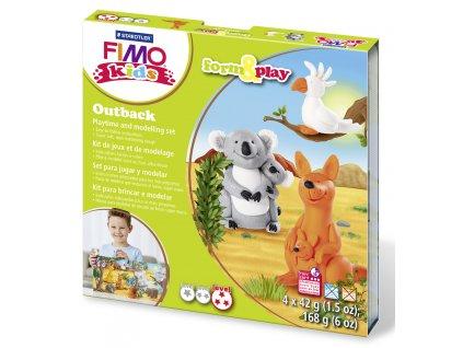 STAEDTLER Sada Fimo kids Form and Play Zvířátka z Austrálie