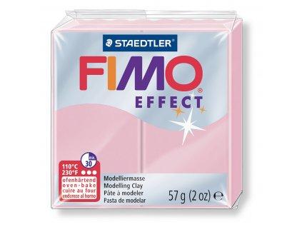 STAEDTLER FIMO efekt pastel růžová růže 57g