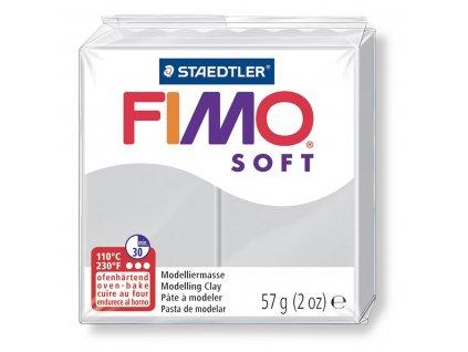 STAEDTLER FIMO soft šedá 57g