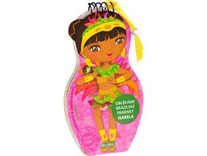 PRESCO GROUP Oblékáme brazilské panenky - ISABELA