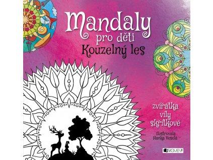 Fragment Mandaly pro děti - Kouzelný les