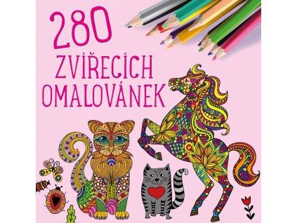 EDIKA 280 zvířecích omalovánek