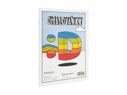 PRESCO GROUP Déčko omalovánky A5