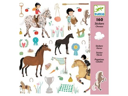 DJECO Samolepky - Koně