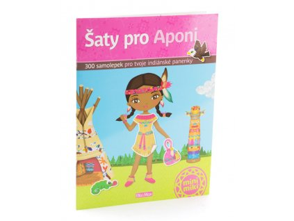 PRESCO GROUP Šaty pro Aponi - kniha samolepek