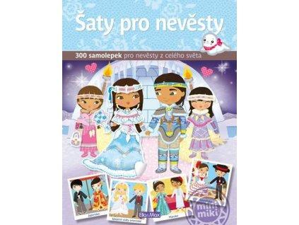 PRESCO GROUP Šaty pro nevěsty - kniha samolepek