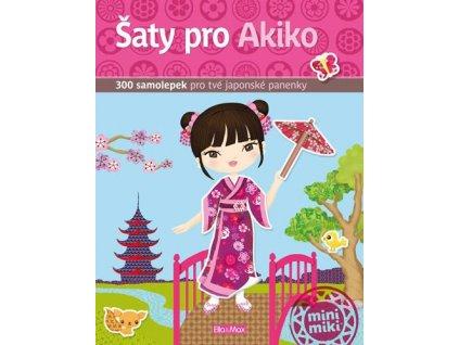 PRESCO GROUP Šaty pro Akiko - kniha samolepek