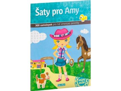PRESCO GROUP Šaty pro AMY - kniha samolepek
