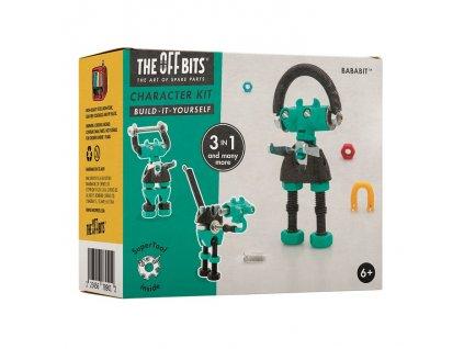 The OffBits Stavebnice - Postavička BabaBit