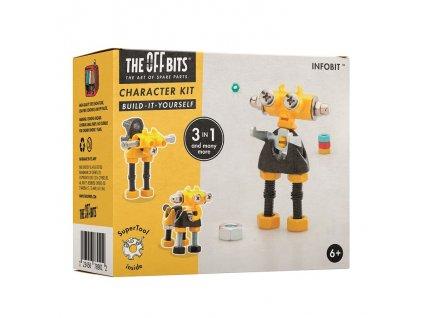 The OffBits Stavebnice - Postavička InfoBit