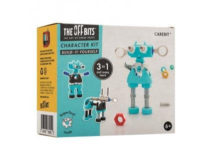 The OffBits Stavebnice - Postavička CareBit