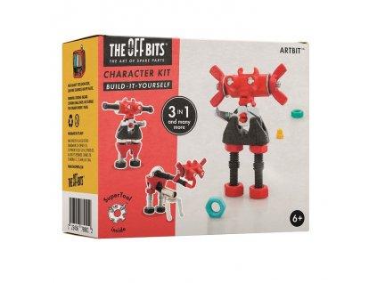The OffBits Stavebnice - Postavička ArtBit