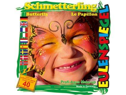 EULENSPIEGEL Sada barev na obličej - Motýl