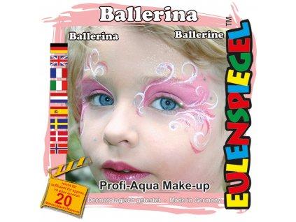 EULENSPIEGEL Sada barev na obličej - Růžová kráska
