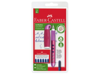 Faber-Castell PLN.pero SCRIBOLINO PR mix barev + bombičky