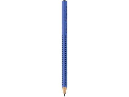 Faber-Castell Grafitová tužka GRIP JUMBO B modrá