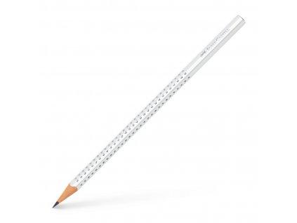 Faber-Castell Grafitová tužka SPARKLE PASTELL, bílá
