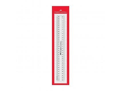 Faber-Castell Pravítko plastové 30cm, průhledné