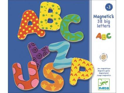 DJECO Magnetická abeceda - Velká písmenka