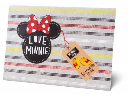 Plastová kapsa s klopou - Minnie A5