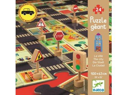 DJECO Podlahové puzzle - Město
