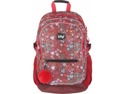 BAAGL Školní batoh - Love