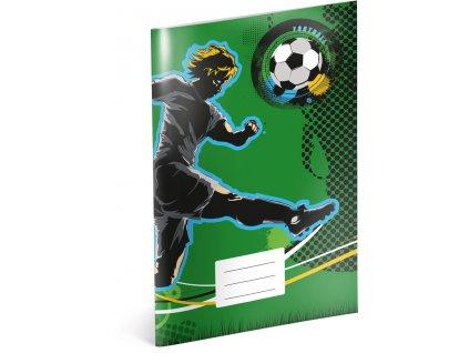 Školní sešit - Fotbal, A5, 40 listů, linkovaný