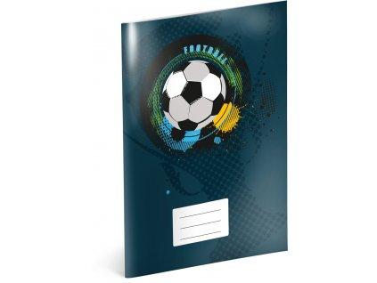 Školní sešit - Fotbal, A4, 40 listů, čtverečkovaný