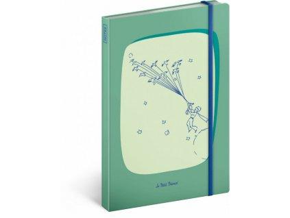 Notes Malý princ – Birds, linkovaný, 13 x 21 cm