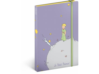 Notes Malý princ – Planet, nelinkovaný, 13 x 21 cm