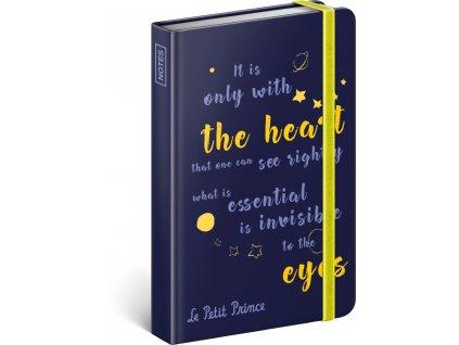 PRESCO GROUP Notes Malý princ – Oči, linkovaný, 10,5 x 15,8 cm
