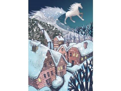 KRESLÍKÁRNA Pohled A6 - Sněžný kůň