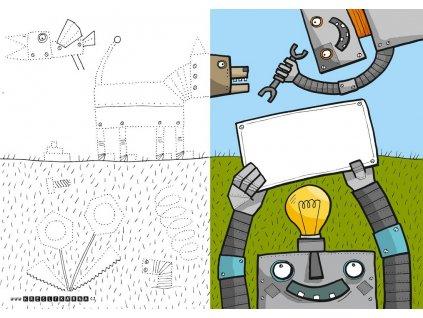 KRESLÍKÁRNA Blahopřání - Pro robota