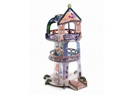 DJECO 3D skládačka - Pohádková věž