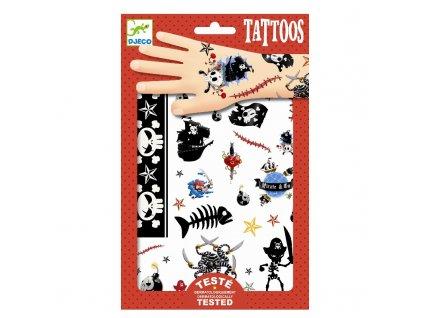 DJECO Tetování - Piráti