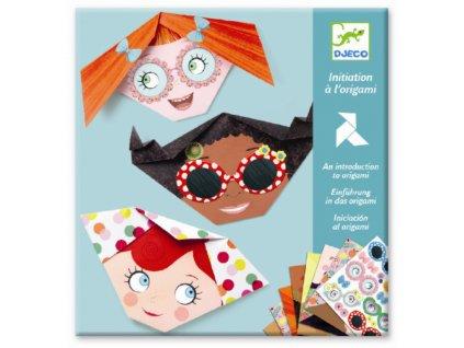 DJECO Origami - Dívčí obličeje