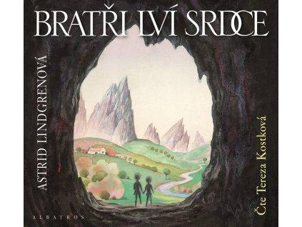 ALBATROS Bratři Lví srdce  (audiokniha pro děti) - Astrid Lindgrenová