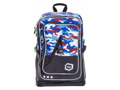 BAAGL Školní batoh Cubic Army