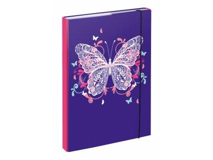 BAAGL Desky na školní sešity A4 Motýl