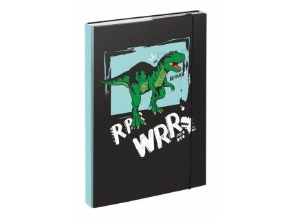 BAAGL Desky na skolní sesity A4 Dino
